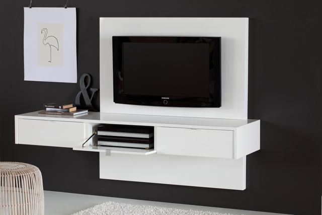 floating tv panels. Black Bedroom Furniture Sets. Home Design Ideas